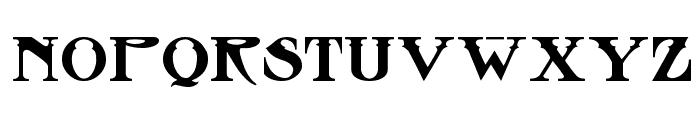 Stowaway Font LOWERCASE