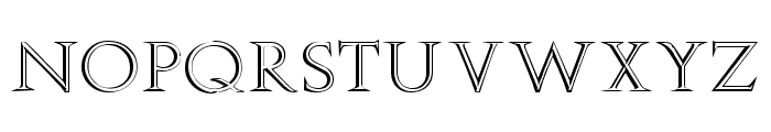 Stowe Open Face Font LOWERCASE