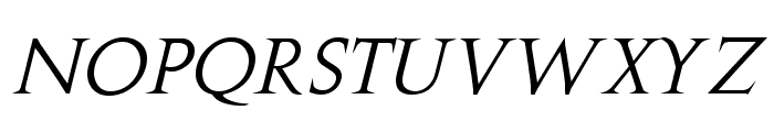 Stowe Titling Italic Font UPPERCASE