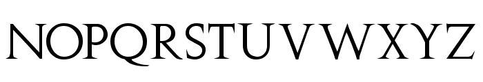 Stowe Titling Font UPPERCASE
