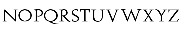 Stowe Titling Font LOWERCASE
