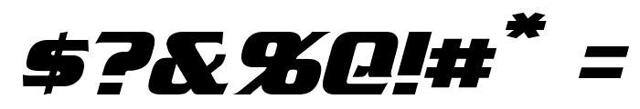 Straczynski Italic Font OTHER CHARS