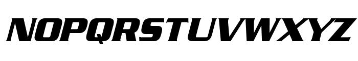 Straczynski Italic Font UPPERCASE