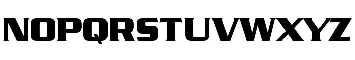 Straczynski Font UPPERCASE
