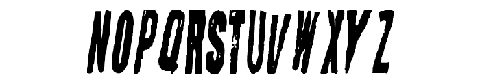 Straight Face Font LOWERCASE