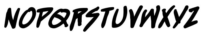 StraightJacket BB Bold Font LOWERCASE