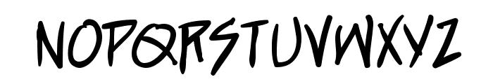 StraightJacket BB Font UPPERCASE