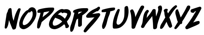 StraightJacketBB-Bold Font LOWERCASE