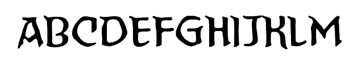 StraightToHellBB Font LOWERCASE