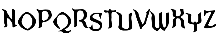 StraightToHellSinnerBB Font LOWERCASE