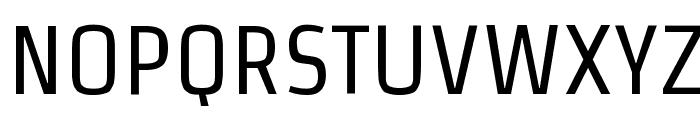 Strait Font UPPERCASE