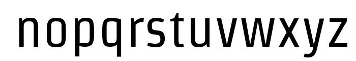 Strait Font LOWERCASE