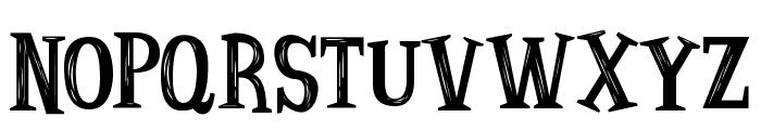 Strange Tales Font UPPERCASE