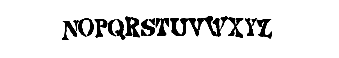Strange world Font LOWERCASE