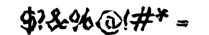 StrangeBlackLetter Font OTHER CHARS