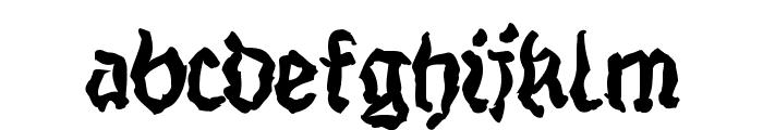 StrangeBlackLetter Font LOWERCASE