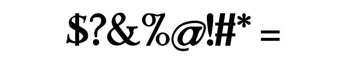 StrangeNewes Medium Font OTHER CHARS