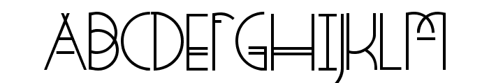 StrangeRituals-Regular Font UPPERCASE
