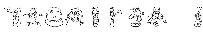 StrangeTypes Font OTHER CHARS