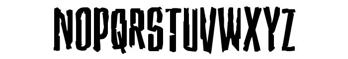 Stranger Danger Expanded Font LOWERCASE