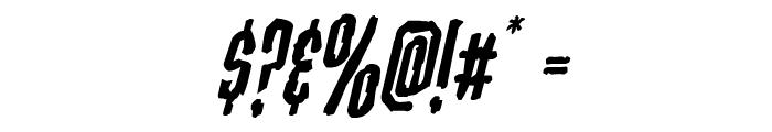 Stranger Danger Italic Font OTHER CHARS