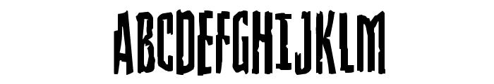 Stranger Danger Font UPPERCASE