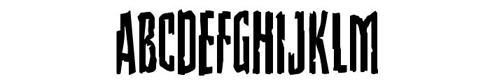 Stranger Danger Font LOWERCASE