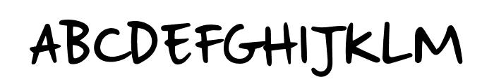 StrangewaysSample Font UPPERCASE