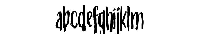 Straphang DEMO Regular Font LOWERCASE