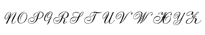 Strasbourg Mixed Font UPPERCASE