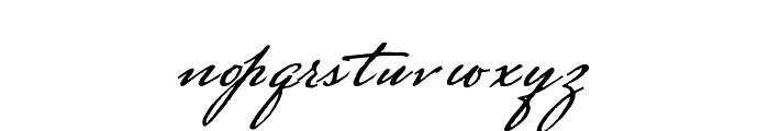 Strasbourg Mixed Font LOWERCASE