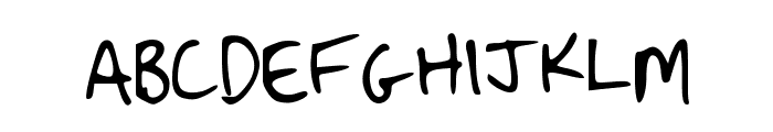 Strassman Script Font UPPERCASE