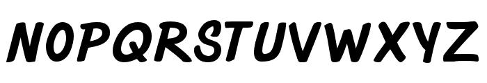 Strato-Medium Font UPPERCASE