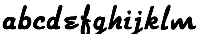 Strato-Medium Font LOWERCASE