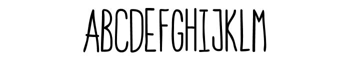 StrawberryAvalanche-Regular Font UPPERCASE