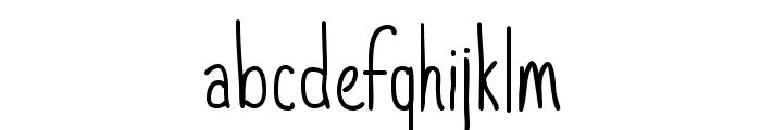 StrawberryAvalanche-Regular Font LOWERCASE