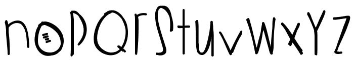 StrawberryBubblegum Font LOWERCASE