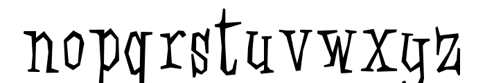 Strawhouse Font LOWERCASE