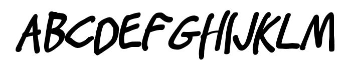 Stray Cat ExtraBlack Condensed Oblique Font UPPERCASE