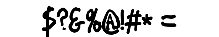 Stray Cat ExtraBlack Condensed Font OTHER CHARS
