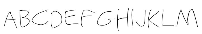Stray Cat ExtraLight Extended Font UPPERCASE