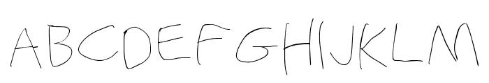 Stray Cat Hairline Extended Font UPPERCASE
