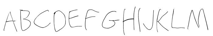 Stray Cat Hairline Font UPPERCASE