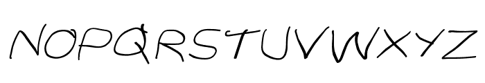Stray Cat SuperExtended Oblique Font UPPERCASE