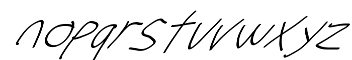 Stray Cat UltraOblique Font LOWERCASE