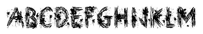 Street Art Font UPPERCASE