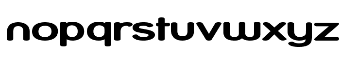 Street Bold Compressed Font LOWERCASE