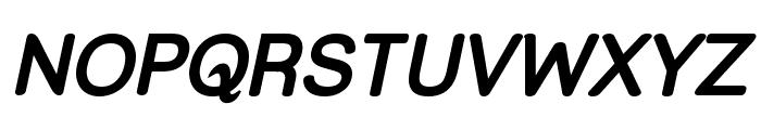 Street Bold Italic Font UPPERCASE