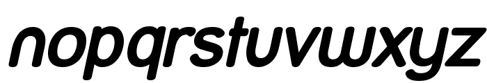 Street Bold Italic Font LOWERCASE