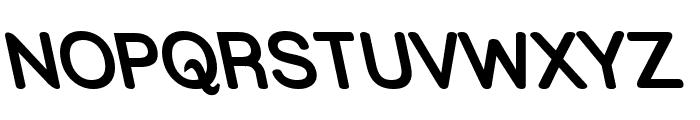 Street Bold Rev Font UPPERCASE